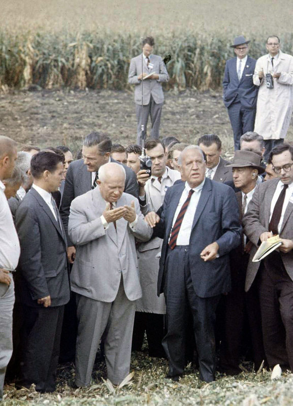 1628 Визит Хрущёва в Америку в 1959 году