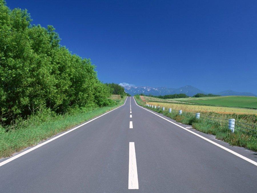 1667 Пейзажи с автомобильных дорог