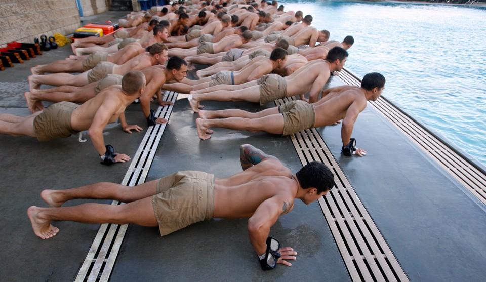1672 Морские котики армии США