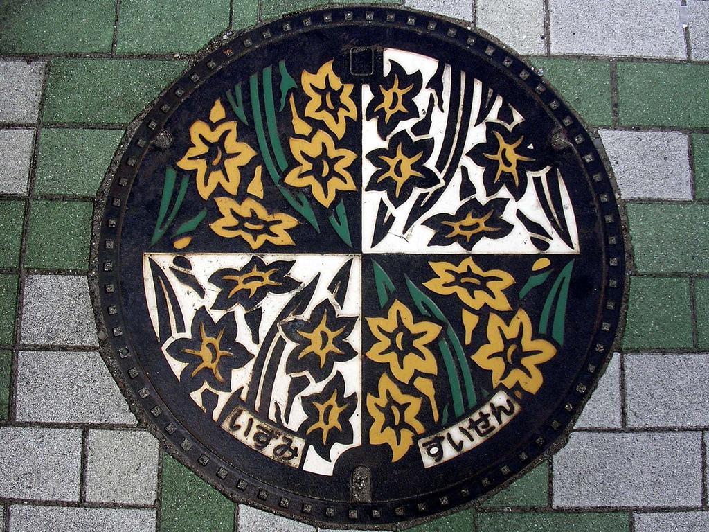 1768 Необычный уличный арт: Канализационные люки из Японии