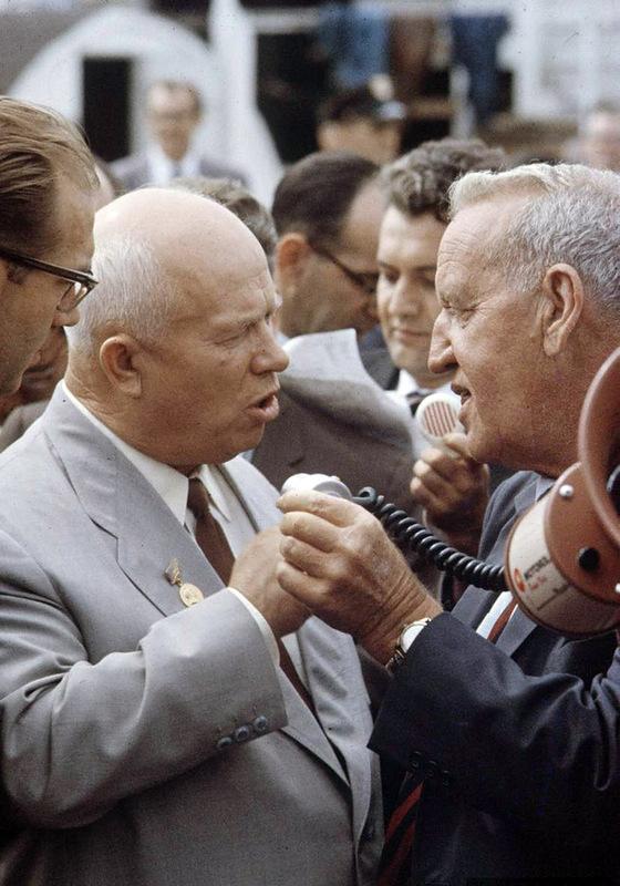 1824 Визит Хрущёва в Америку в 1959 году
