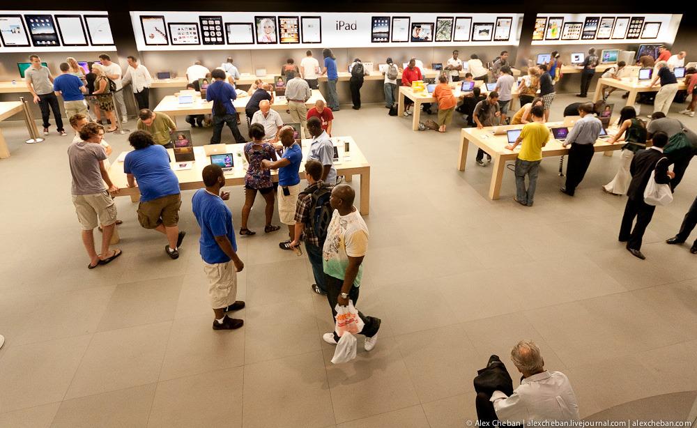 1841 Музей Гуггенхайма: выбор Apple в городе Большого Яблока