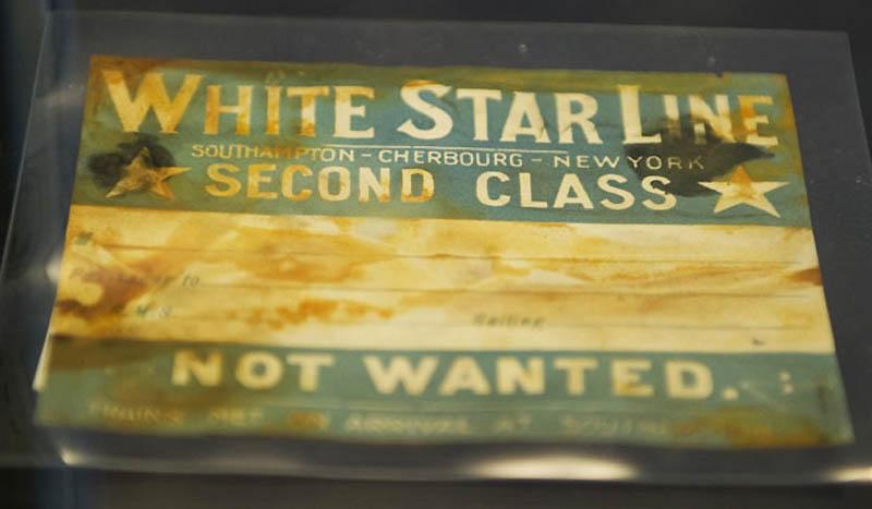 1914 Коллекцию вещей с Титаника продадут с аукциона 1 апреля