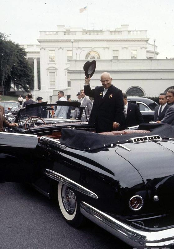1924 Визит Хрущёва в Америку в 1959 году
