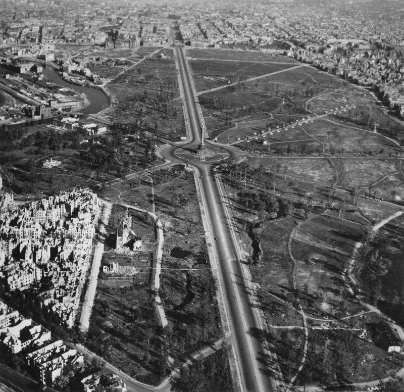 1932 20 впечатляющих фото послевоенного Берлина с высоты птичьего полета