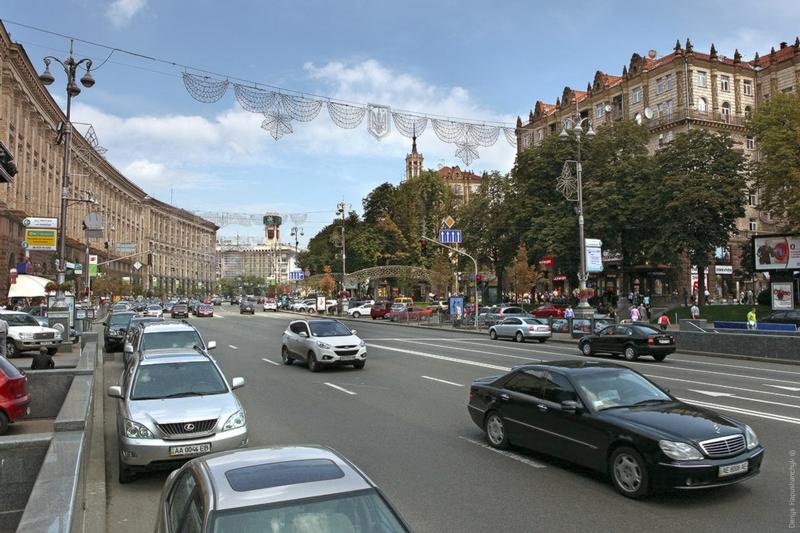 1955 Что изменилось в Киеве за последние 100 лет