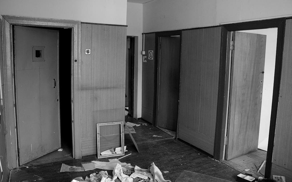 1968 Заброшенный отдел по борьбе с преступностью