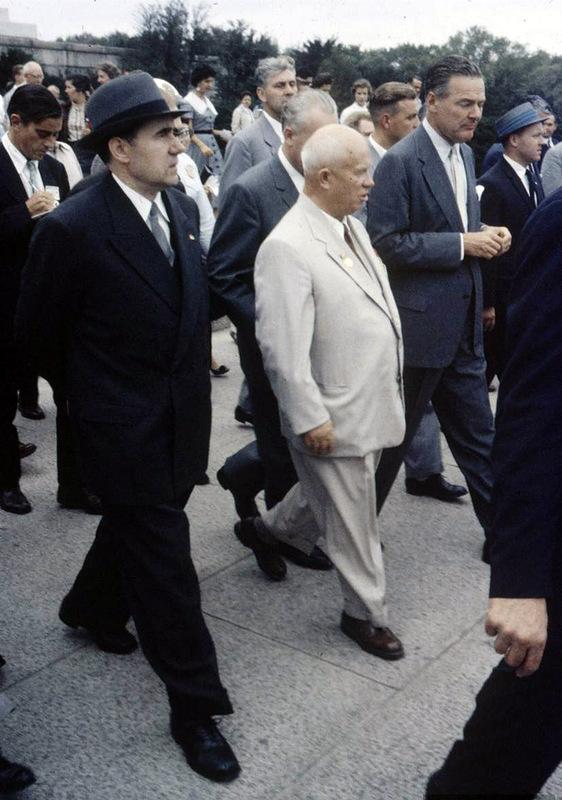 2128 Визит Хрущёва в Америку в 1959 году