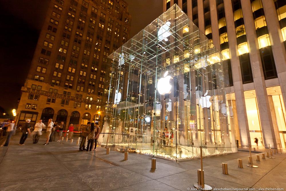 2168 Музей Гуггенхайма: выбор Apple в городе Большого Яблока