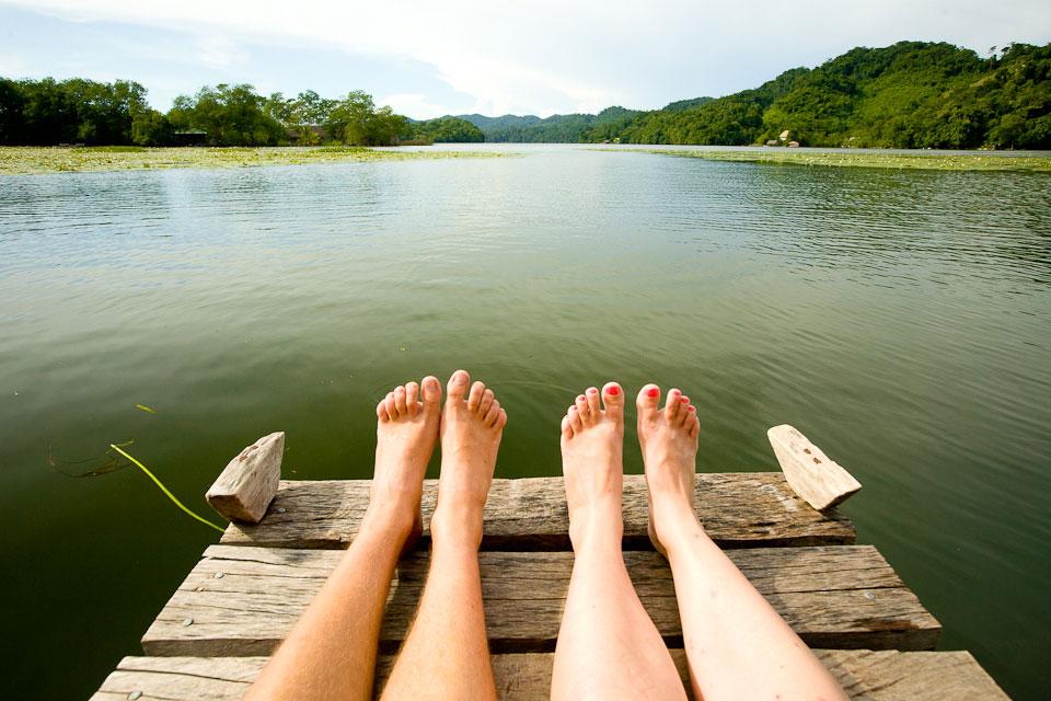 вообще, фото ног в речке животных