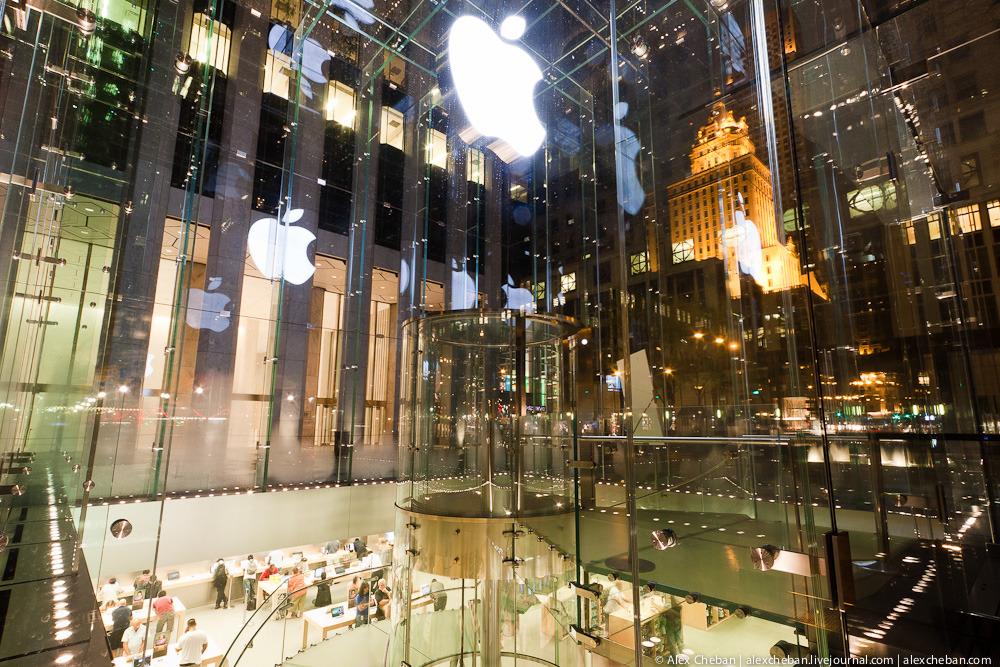 2333 Музей Гуггенхайма: выбор Apple в городе Большого Яблока