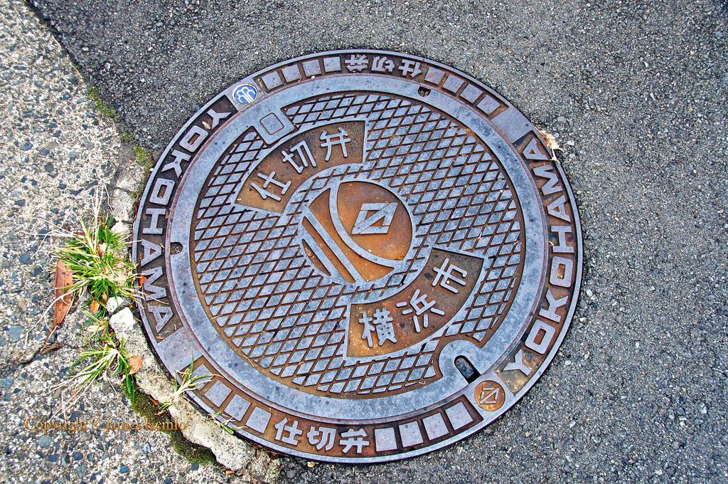 2348 Необычный уличный арт: Канализационные люки из Японии