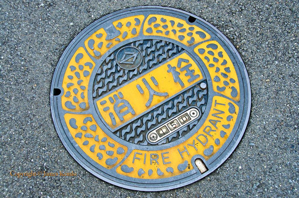 2445 Необычный уличный арт: Канализационные люки из Японии