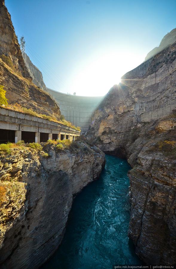 2616 Чиркейская ГЭС   самая высокая арочная плотина в России