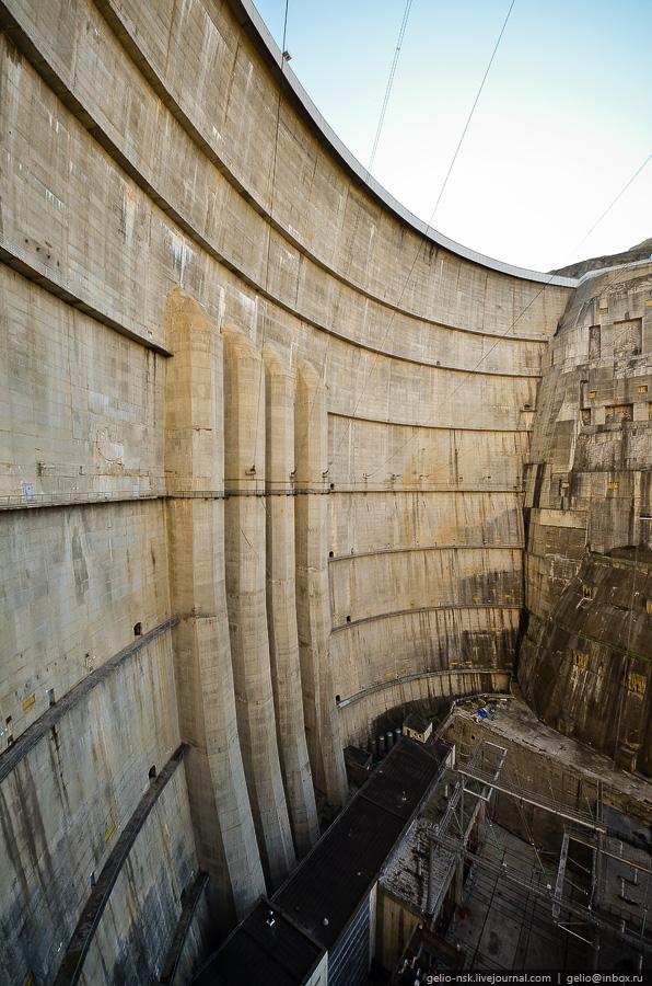 2815 Чиркейская ГЭС   самая высокая арочная плотина в России