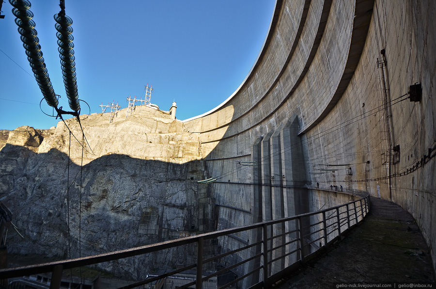 3012 Чиркейская ГЭС   самая высокая арочная плотина в России