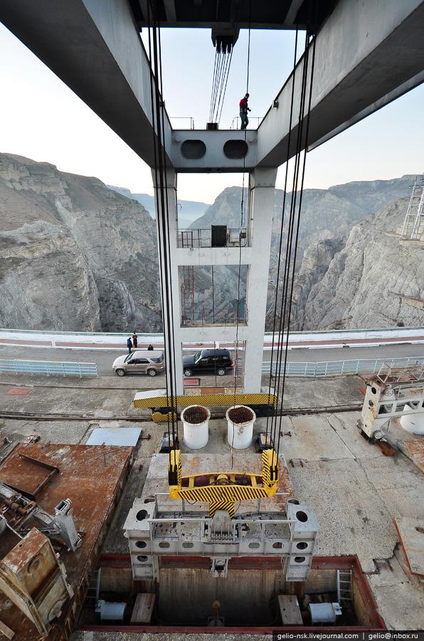 3119 Чиркейская ГЭС   самая высокая арочная плотина в России