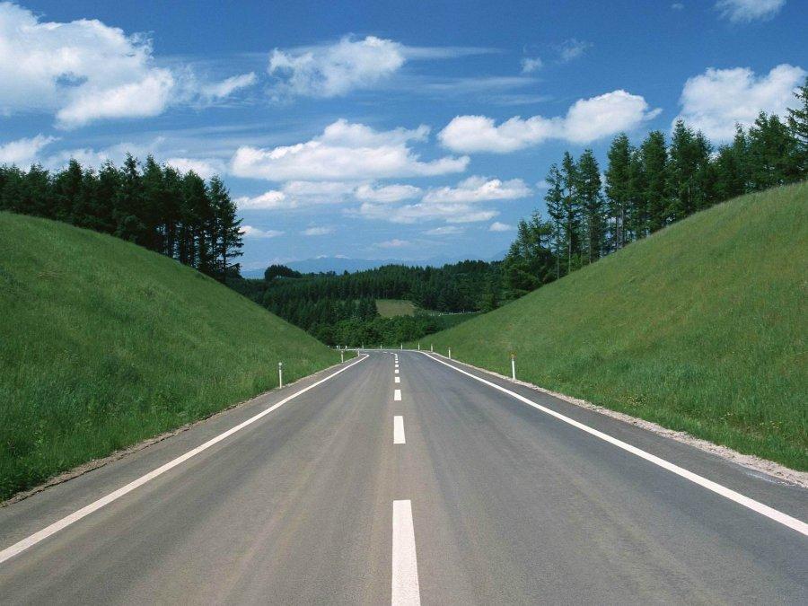 3179 Пейзажи с автомобильных дорог