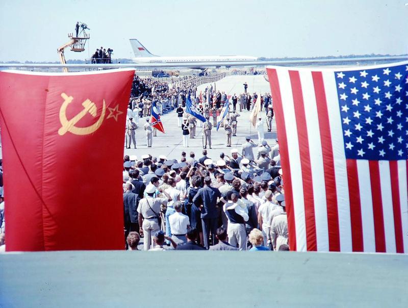 390 Визит Хрущёва в Америку в 1959 году