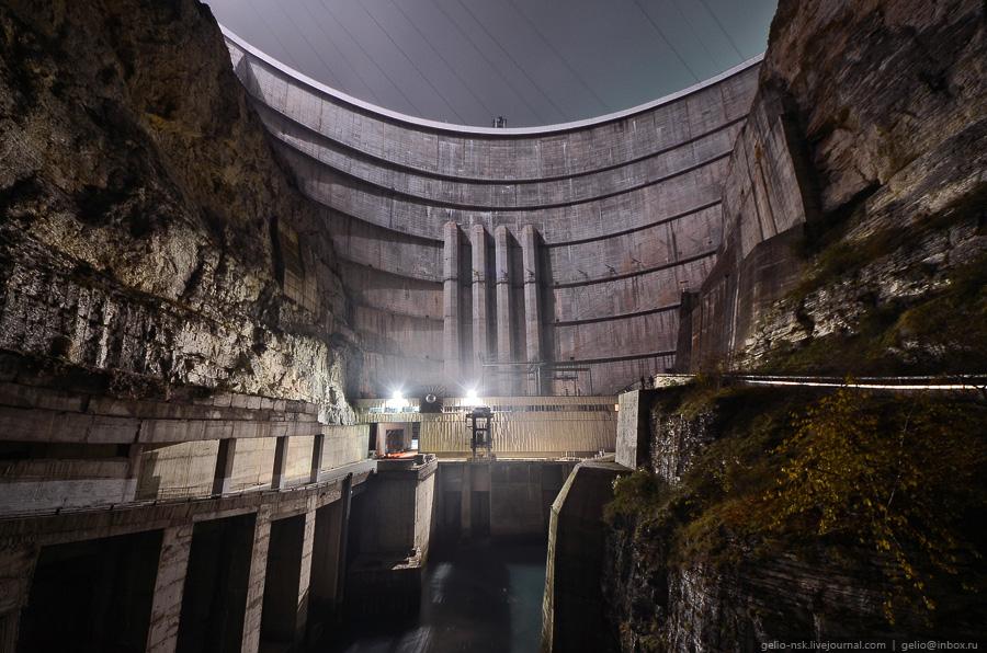 409 Чиркейская ГЭС   самая высокая арочная плотина в России