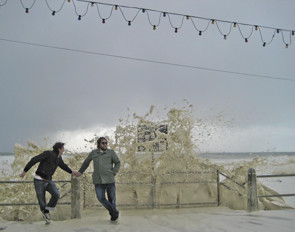 4145 День, когда море превратилось в пену