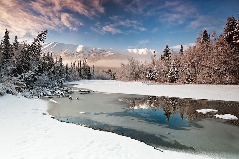 4156 Холодная красота Аляски от фотографа Рея Балсона