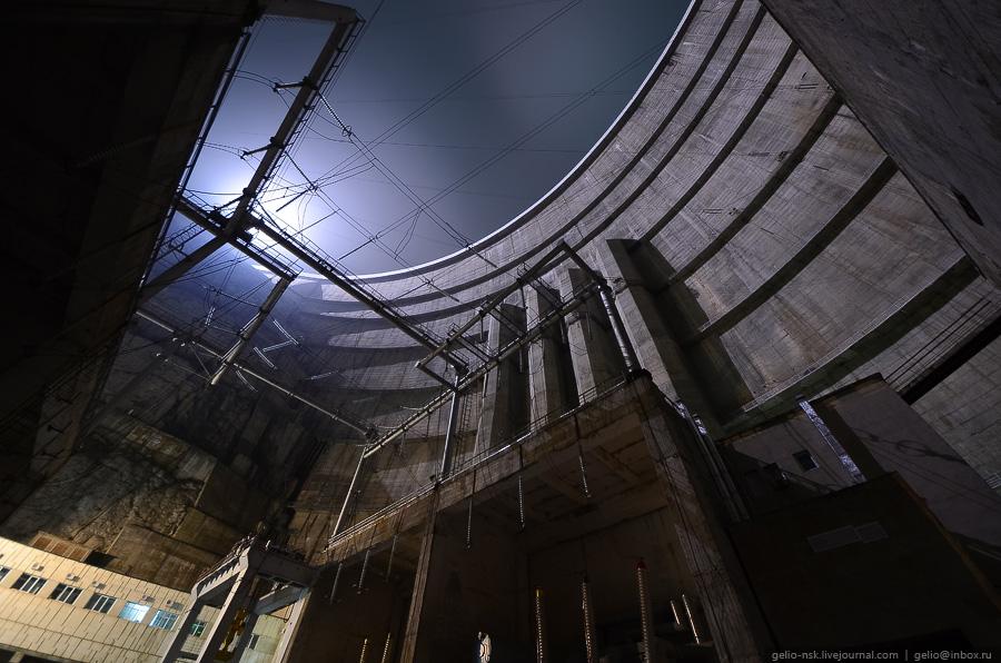 4214 Чиркейская ГЭС   самая высокая арочная плотина в России