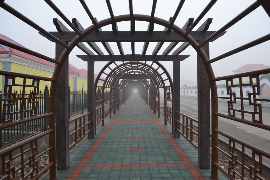 447 «Спокойная жизнь» китайского колхоза