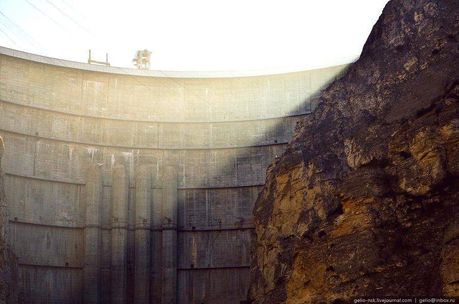 466 Чиркейская ГЭС   самая высокая арочная плотина в России