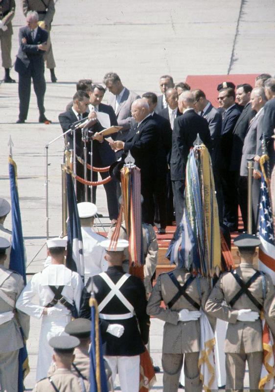 547 Визит Хрущёва в Америку в 1959 году