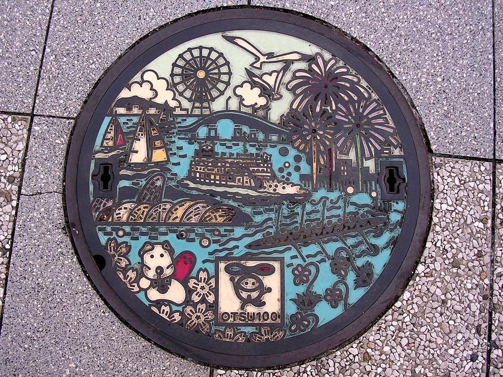 6131 Необычный уличный арт: Канализационные люки из Японии