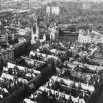 20 впечатляющих фото послевоенного Берлина с высоты птичьего полета