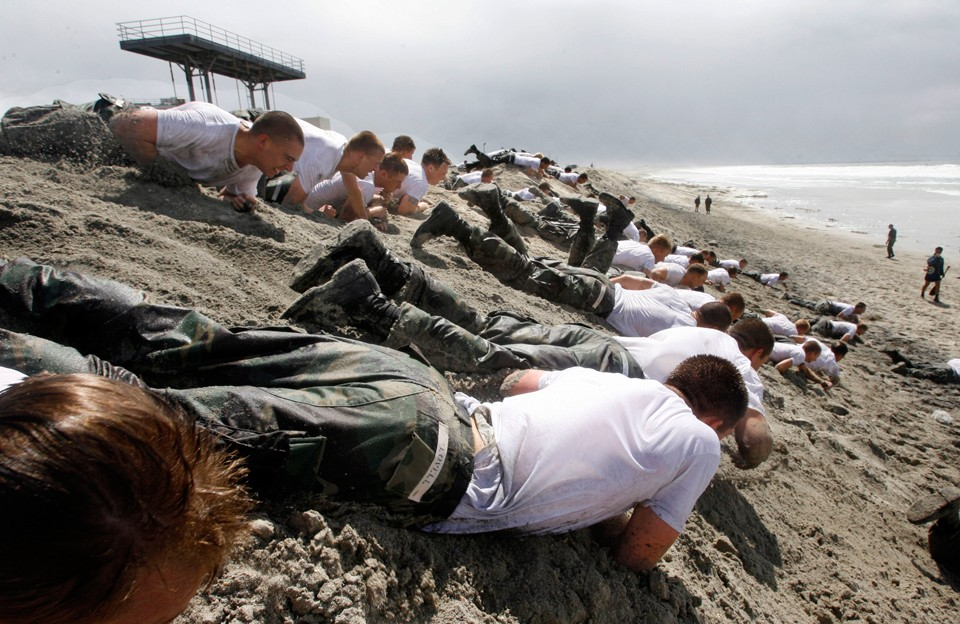 7122 Морские котики армии США