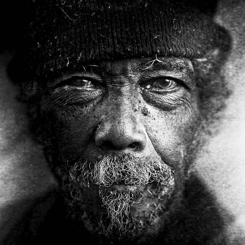7125 Портреты бездомных от Ли Джеффриса