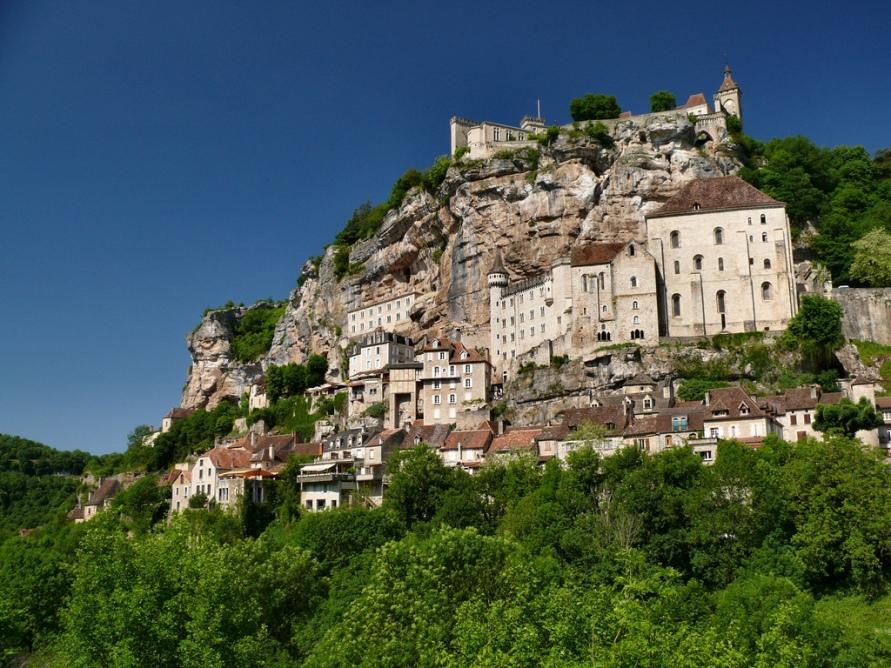 864 Жизнь на краю обрыва — скальные города Европы
