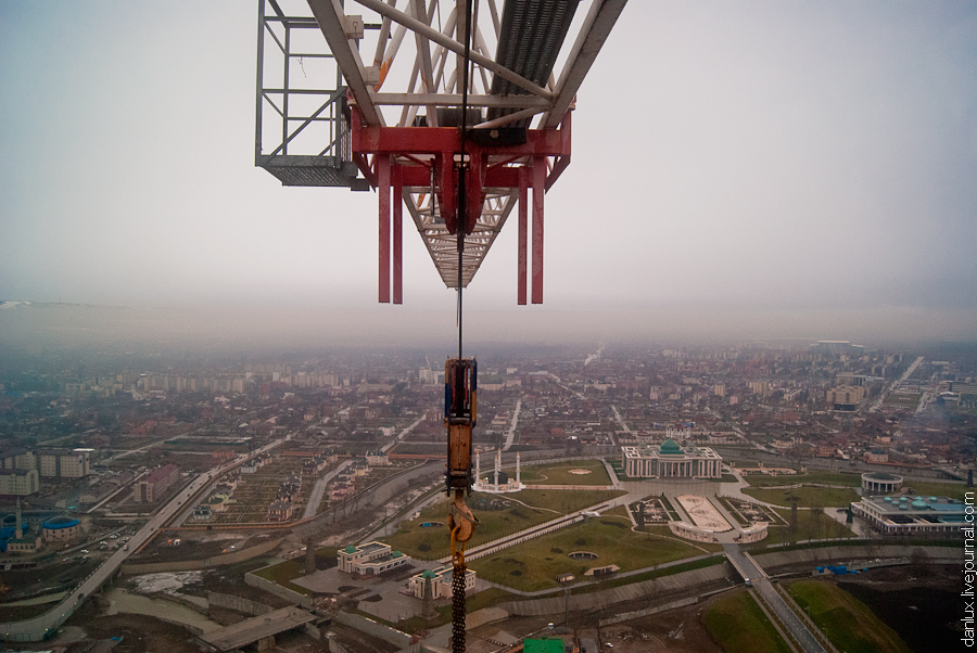 9112 Грозный Сити: Выше крыши