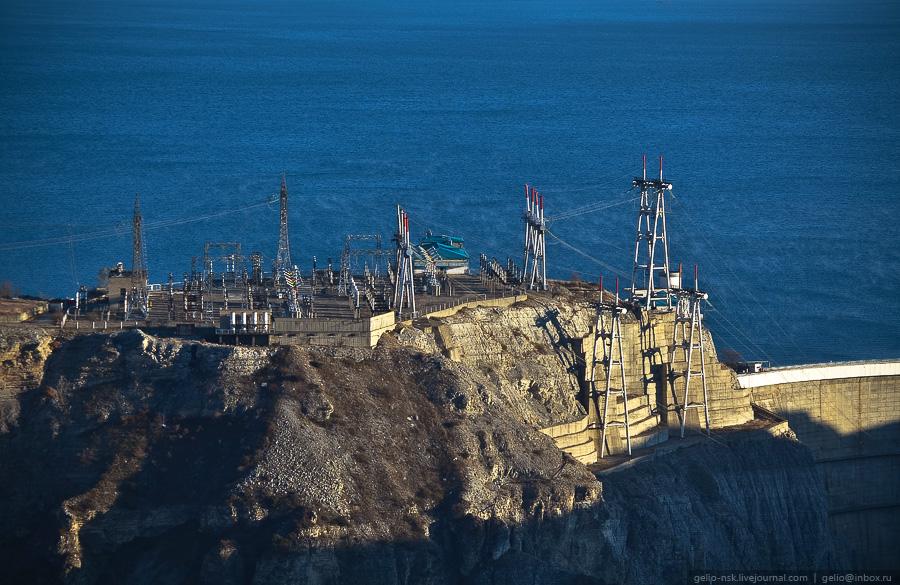 935 Чиркейская ГЭС   самая высокая арочная плотина в России