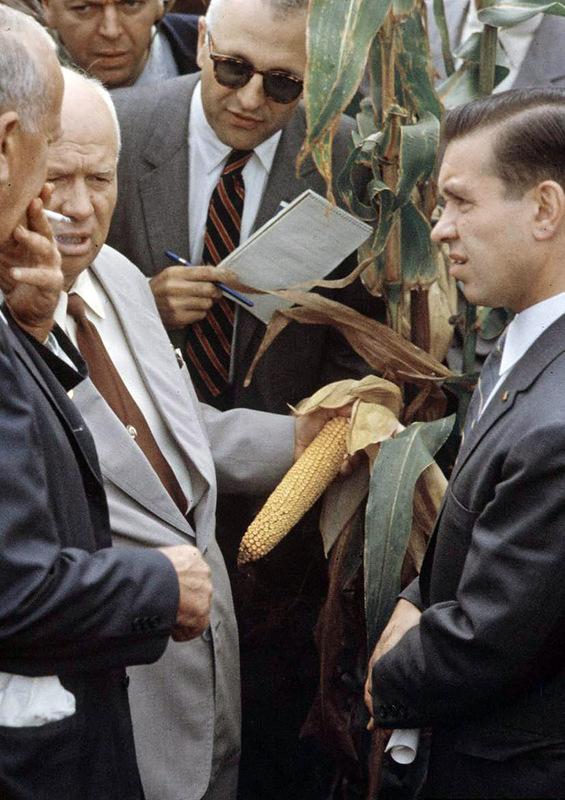 936 Визит Хрущёва в Америку в 1959 году