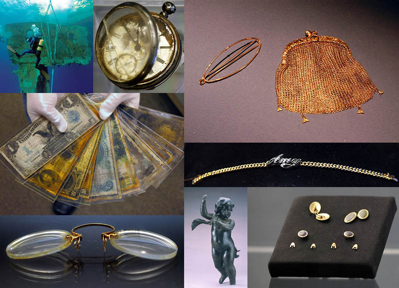 Коллекцию вещей с «Титаника» продадут с аукциона 1 апреля