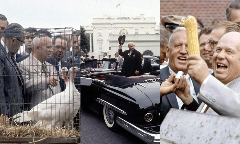 BIGPIC31 Визит Хрущёва в Америку в 1959 году