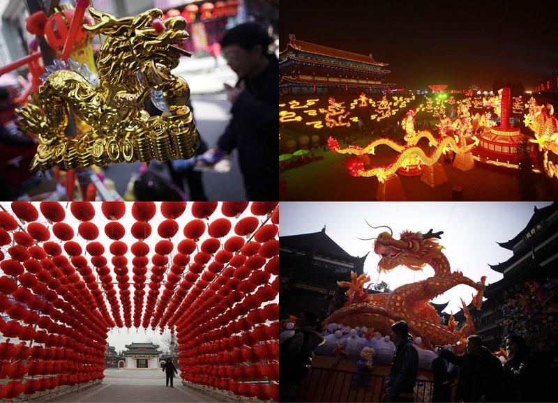 BIGPIC55 Подготовка к китайскому Новому году Дракона