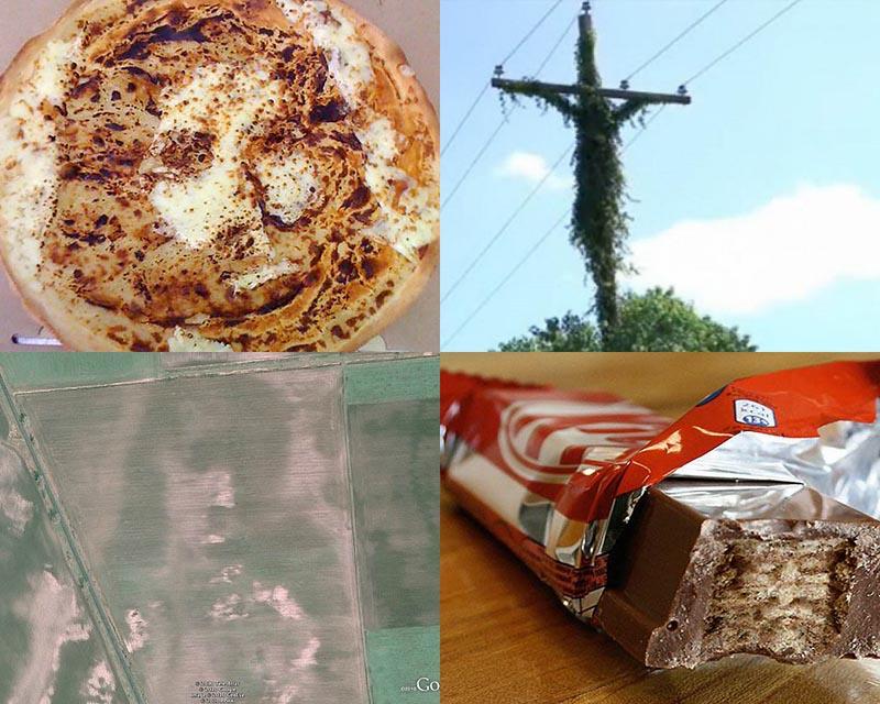 BIGPIC6 Образы Иисуса Христа и других религиозных фигур в повседневных вещах