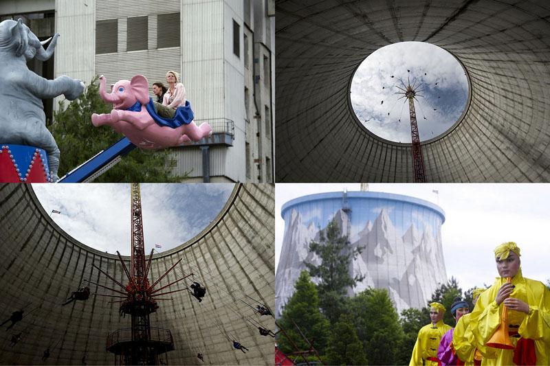 Парк развлечений на территории ядерного реактора