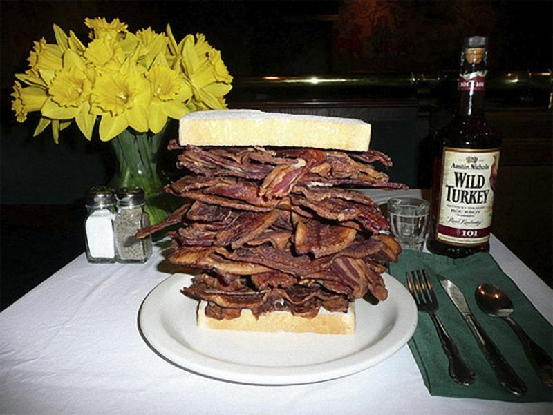 Bacon Искусство бутерброда