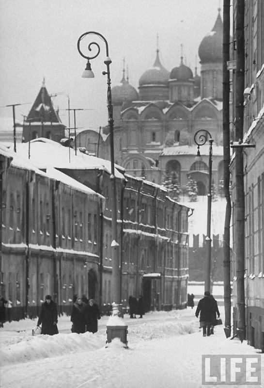 Moscow 01 Москва зимой 1959 года