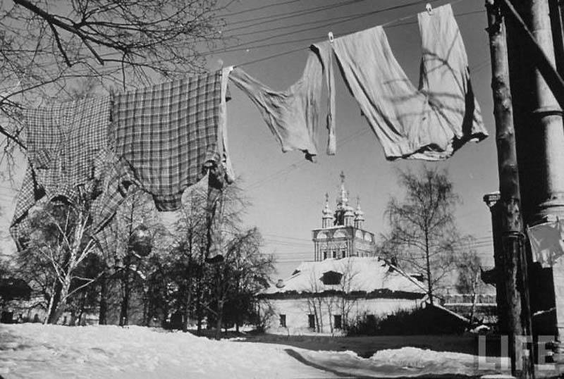 Moscow 03 Москва зимой 1959 года