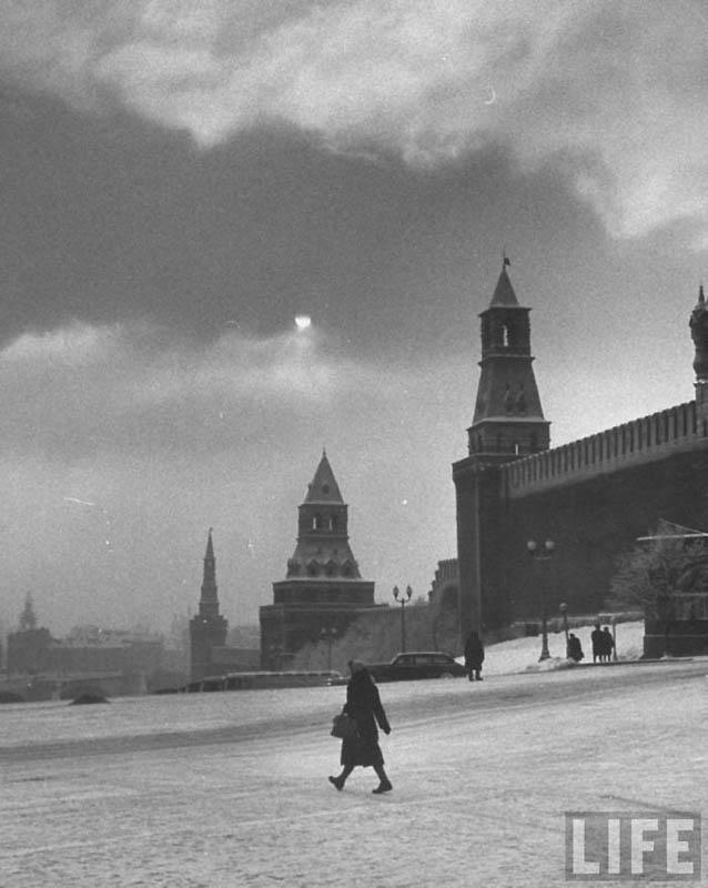 Moscow 04 Москва зимой 1959 года