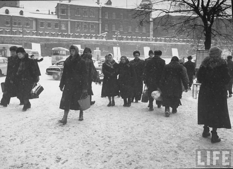 Moscow 05 Москва зимой 1959 года