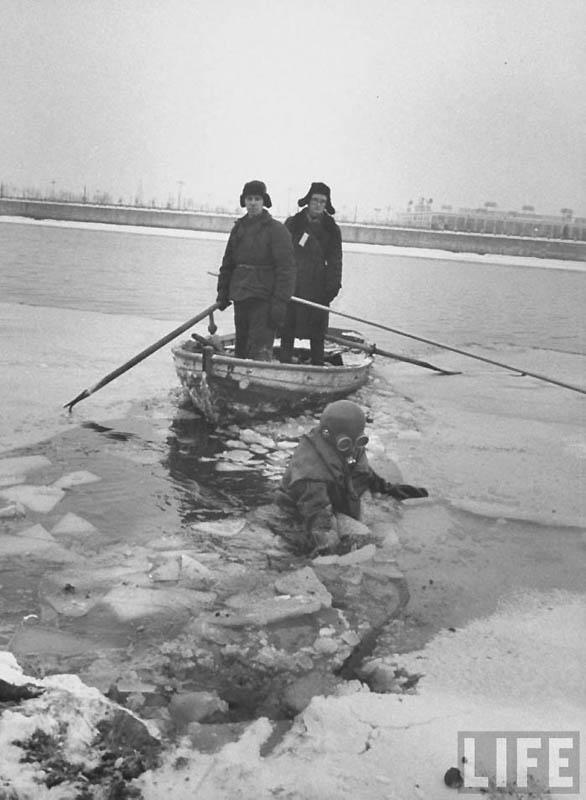 Moscow 06 Москва зимой 1959 года