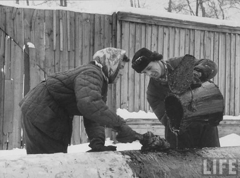 Moscow 10 Москва зимой 1959 года